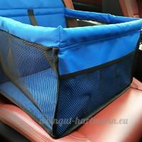 Pet Car Booster Siège Chien Chat Chiot Voyage Transporteur Cage Deluxe Portable avec Clip-Sur Laisse de Sécurité  Parc Pliable Facile Pliant - B07C6FZH1W