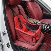 Pet Car Booster Siège Chien Chat Chiot Voyage Transporteur Cage Deluxe Portable avec Clip-Sur Laisse de Sécurité  Parc Pliable Facile Pliant - B07C69LGKX