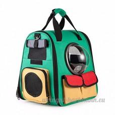 _2018 Sac à dos de sac à main portable pet chat chien les sorties dans l'espace avec un sac en toile sac à dos 01 Sac à dos - B07B46SFWF