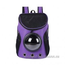 Kicode Sac Pet Portable Sac à dos pour animaux Capsule spatiale Multicolore De plein air Transporteur pour les petits animaux - B0798J8GR5