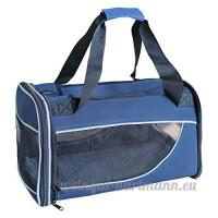 CS Le sac d'animal familier bleu de rectangle hors des approvisionnements portatifs d'animal familier de chien peut être plié - B078YPMLXL