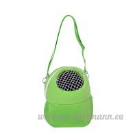 Glareshop Sac de transport pour hamster Portable respirant Sortantes Sac pour petits animaux comme Hérisson - B078N3N9JJ