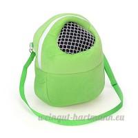 Glareshop Sac de transport pour hamster Portable respirant Sortantes Sac pour petits animaux comme Hérisson - B078N2M1YN
