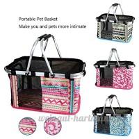 Zealux® Portable Confort 30 5cm et 43 2cm souple Face Pet extérieur Voyage Sac de transport pour chat/chien Petits Animaux Tote Panier - B06XSF8CLN